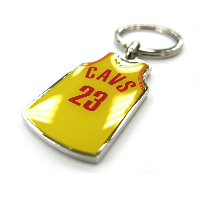 Custom Promotional Product Basketball Jersey Metal Keychain