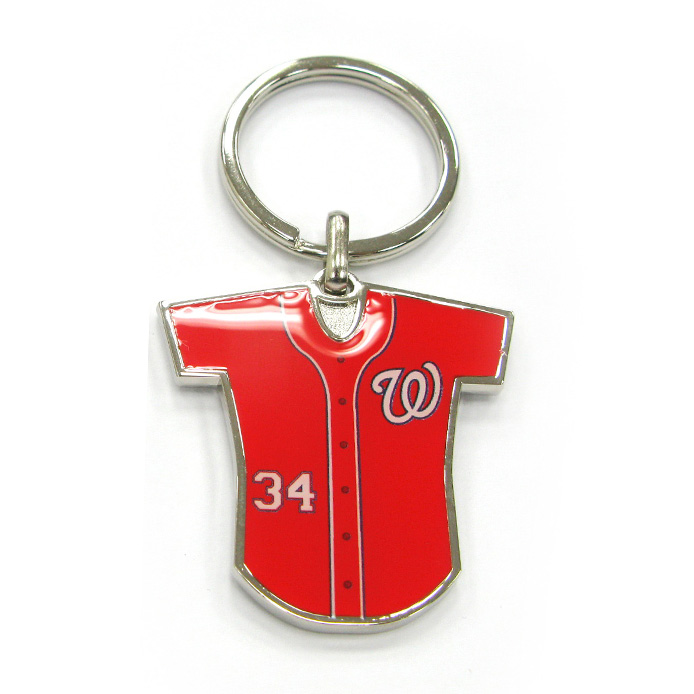 Promotional Product Baseball Jersey Keychain