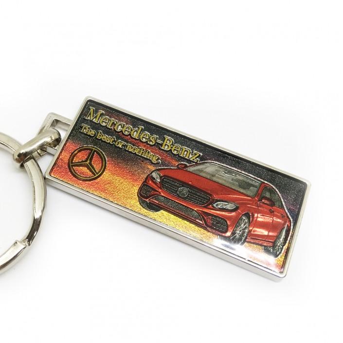 Zinc Alloy Keyring with Car brand