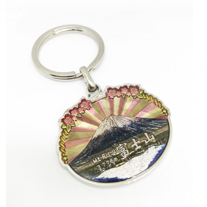 Japan Mount Fuji Metal Keyring