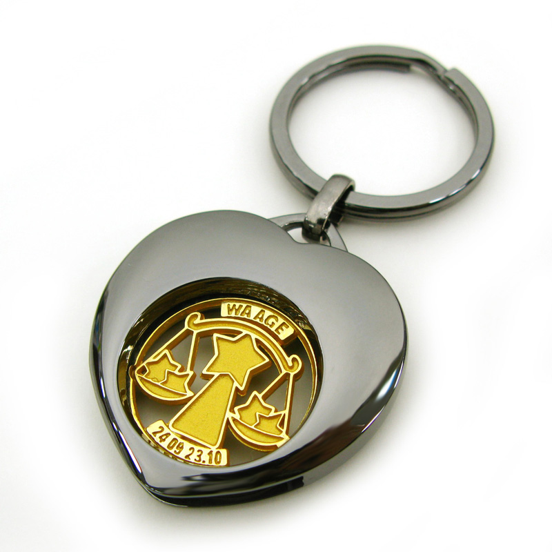coin keychain