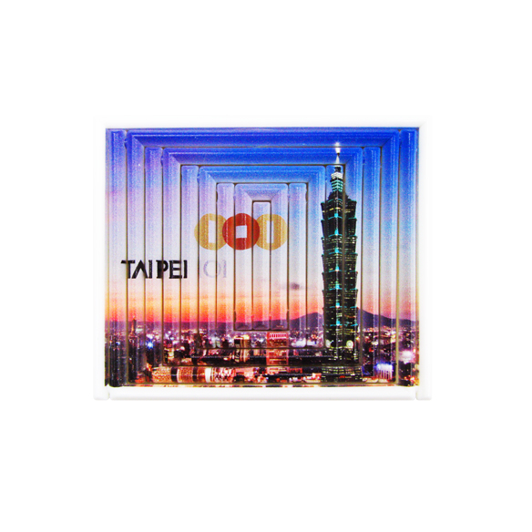 The picture shows a famous building on a promotional and advertising gift called Jeliku.