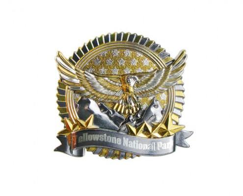 Customized American 3D Metal Pin Badge