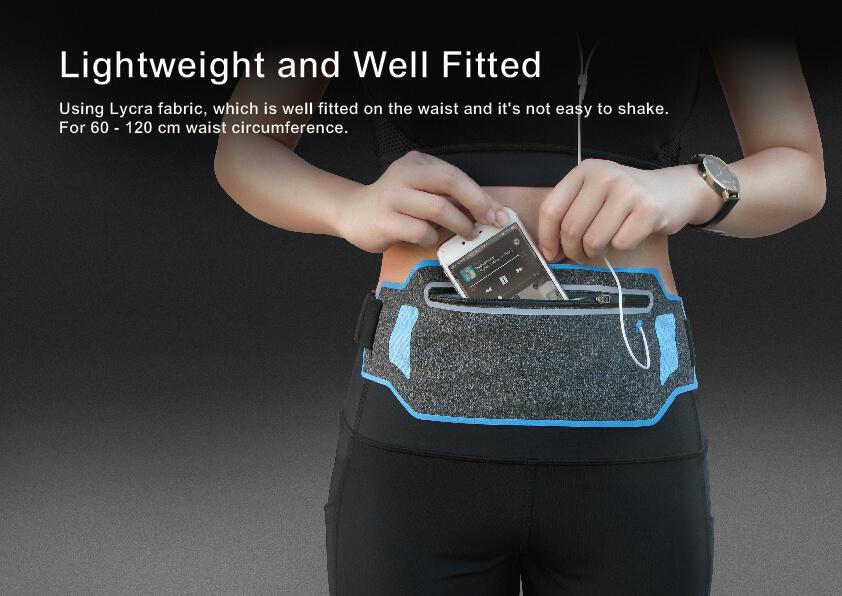 Lightweight Sport Running Waist Pack