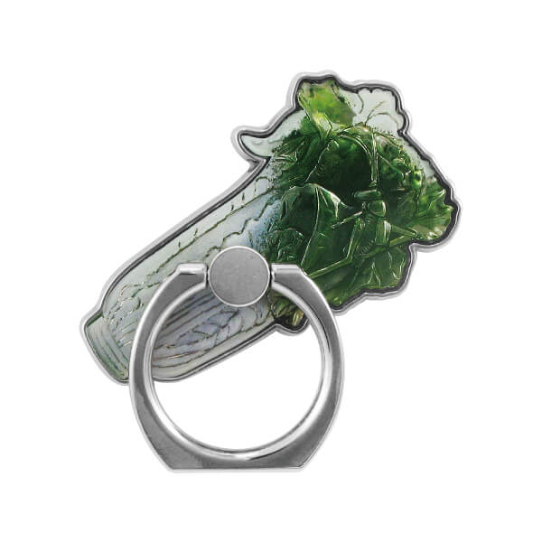 Jadeite Cabbage 3D Printing Mobile Ring Stand