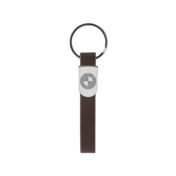 Personalized Designed Metal Leather Keychain