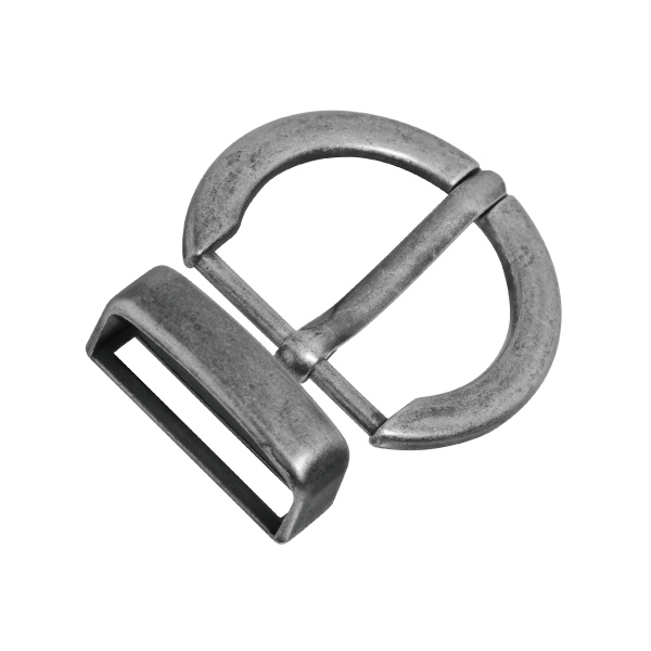 O Shaped Double Ring Design Belt Buckle looks ancient